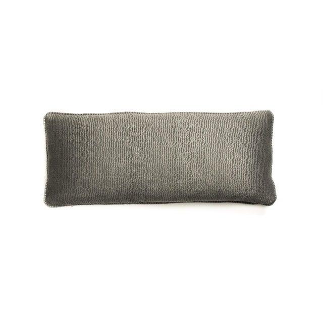 Gray Shark Lumbar Pillows - A Pair - Image 2 of 3
