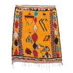 "Image of Vintage Azilal Moroccan Berber Rug - 3'1"" x 3'10"""