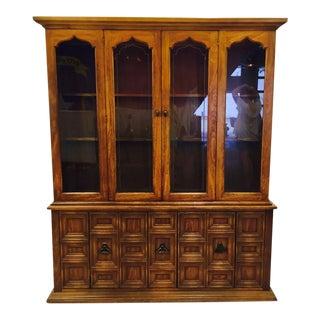 Vintage Mid-Century China Cabinet