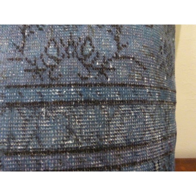 Image of Antique Turkish Rug Fragment Pillow