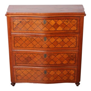 Swedish Parquetry Drop Front Desk
