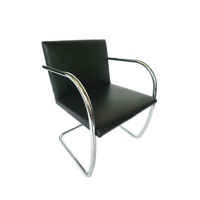 Ludwig Mies Van Der Rohe Brno Chairs - A Pair - Image 3 of 8