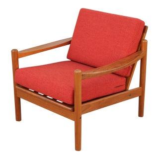 Teak Danish Lounge Chair