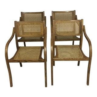 Thonet Mid Century Bentwood Chairs - Set of 4