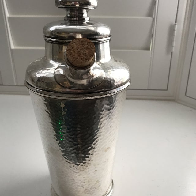 International Silver Co. Hammered Cocktail Shaker - Image 8 of 10