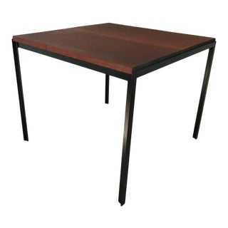 "Florence Knoll ""T"" Angle Mahogany Dining Table"