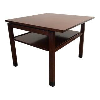 Dunbar Walnut End Table