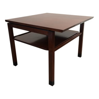Dunbar Walnut End Table