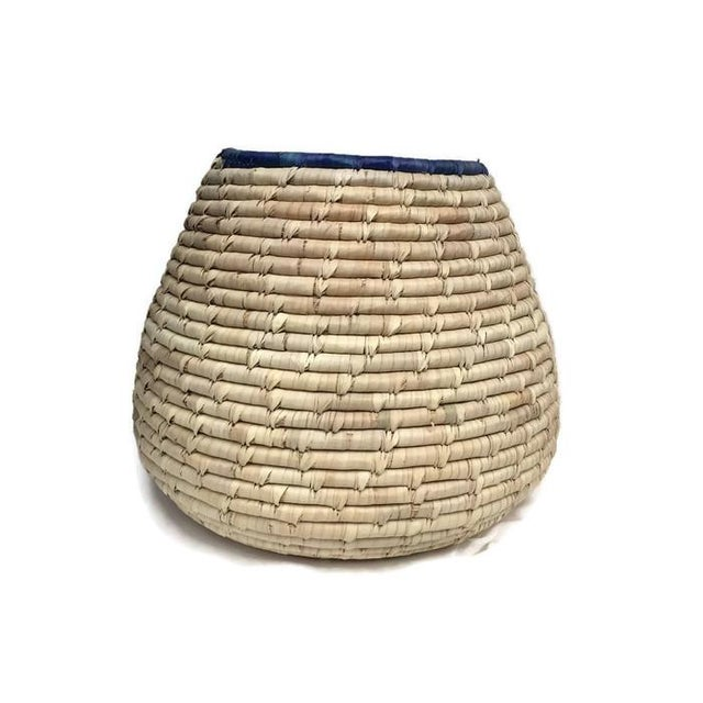 Vintage Woven Cobra Basket Snake Charmer - Image 1 of 5