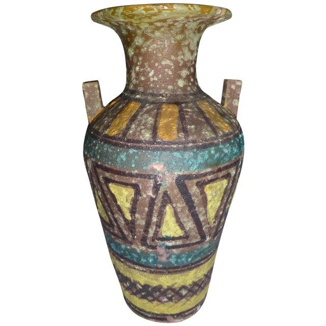 Mid Century Gambone Style Italian Vase - Image 1 of 9