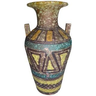Mid Century Gambone Style Italian Vase