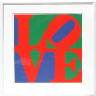 Robert Indiana, Classic Love, Serigraph