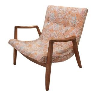 Mid-Century Milo Baughman/James Inc. Scoop Lounge Chair