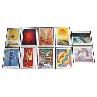 1969 Framed Artwork - Set of 6