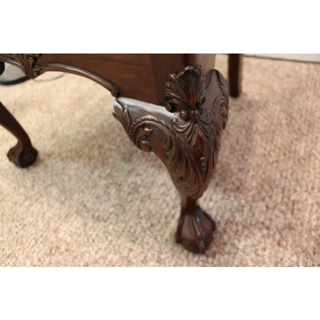 Chippendale Ball & Claw Foot Armchair - Image 10 of 10