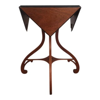 Baker Drop Leaf Handkerchief Table