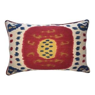 Brunschwig & Fils Samarkand Ikat Pillow