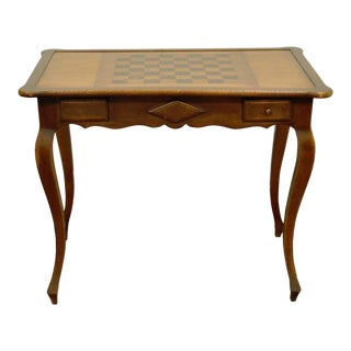Vintage French Country Game Table