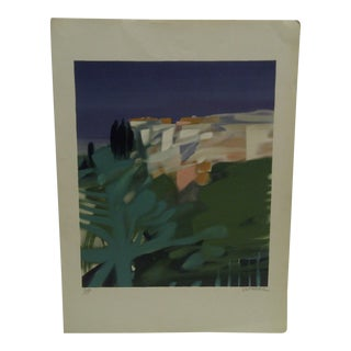 """Limited Numbered (45/180) Signed Print - """"On the Cliff"""" by Defossez"""