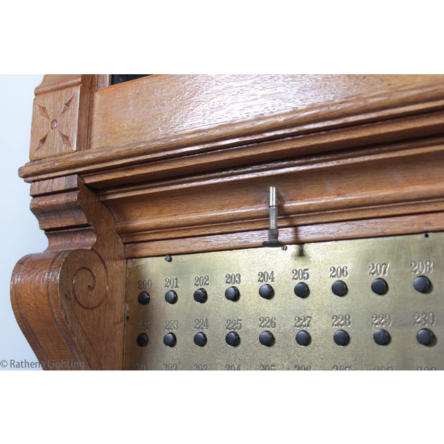 Antique Annunciator Call Box - Image 10 of 11