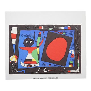 Vintage Joan Miro Abstract Lithograph