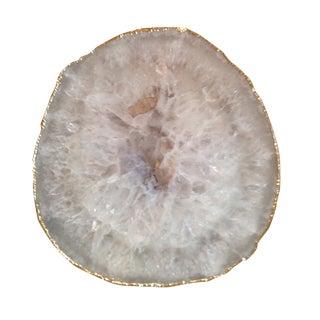 Agate Gold Trim Trivet