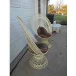 Image of Mid-Century Aluminum Peacock Chairs - A Pair