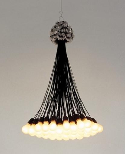 85 Lamps Chandelier By Dutch Designer Droog Chairish