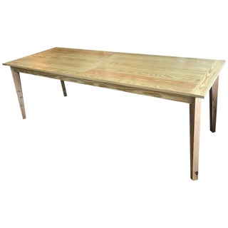 Fabulous French Farm Table Custom Handmade Interior or Exterior