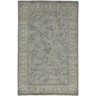 "Oushak Hand Knotted Area Rug - 4'7"" X 7'1"""
