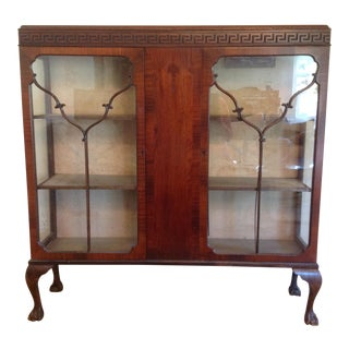 Antique Chippendale Style Bookcase