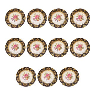 Fit for an Heiress Dresden Dinner Plates - Set of 11