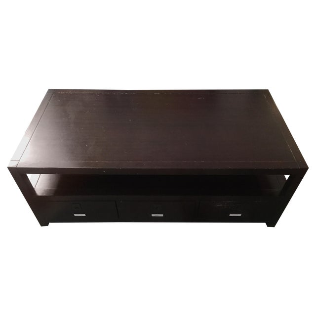 Pottery Barn Rhys Coffee Table Chairish