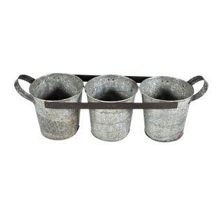 Three Bucket Planter