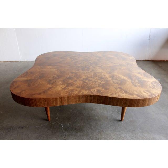 Gilbert Rohde Burl Surrealist 'Cloud' Coffee Table - Image 2 of 11