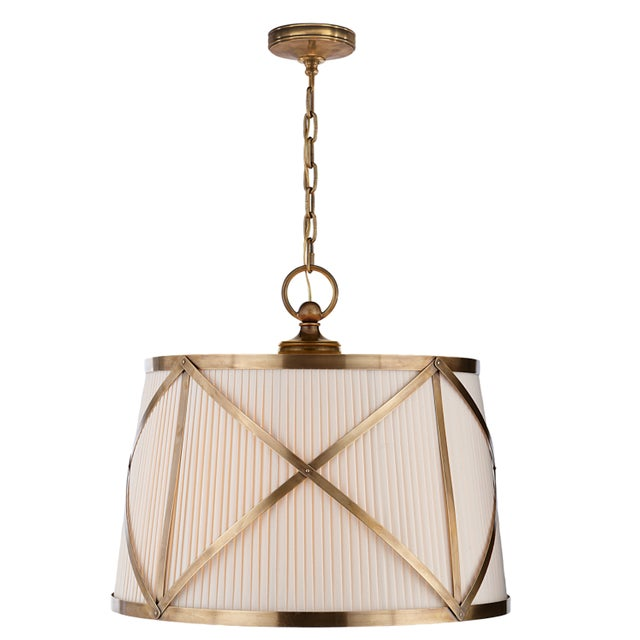 Circa Lighting E F Chapman Large Grosvenor Pendants A Pair Chairish