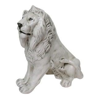 Oversize Italian Ceramic Figurine
