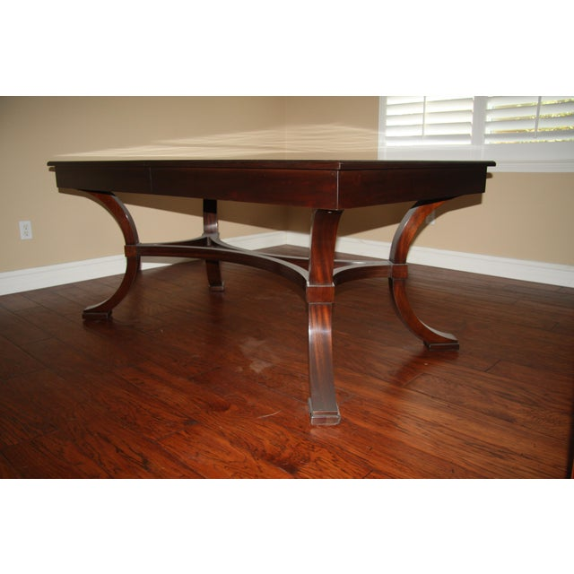 Williams-Sonoma Home Solid Mahogany Dining Table | Chairish