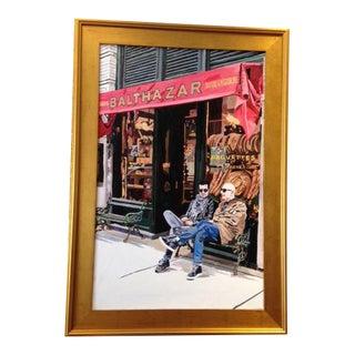 "Gold Framed ""Balthazar"" Original Acrylic Painting"
