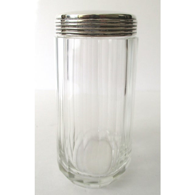 Asprey Glass Jar With Sterling Silver Top - Image 3 of 7