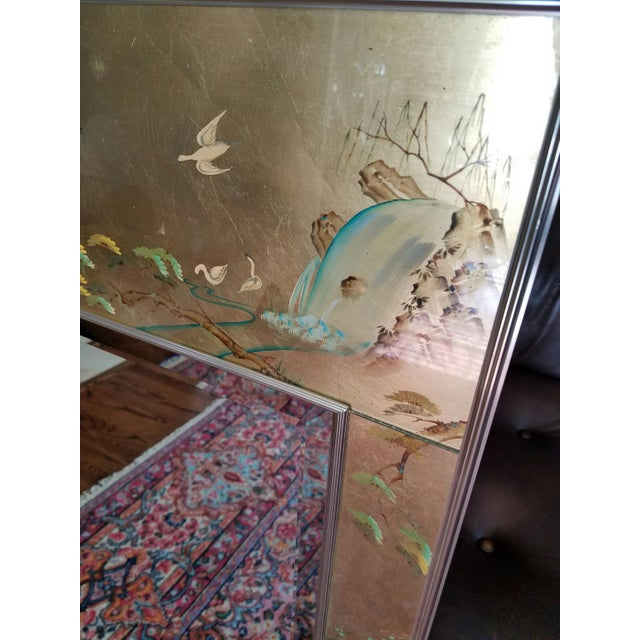 LaBarge Mirror Eglomise Mirror - Image 5 of 8