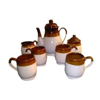 Vintage Stoneware Coffee / Tea Set