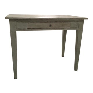19th C. Painted Gustavian Table
