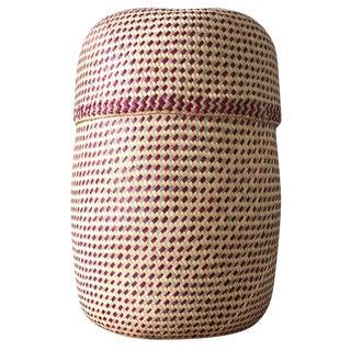 Cream Oaxacan Palm Basket