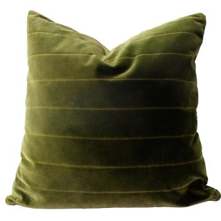 Donghia Green Italian Pillow Cover