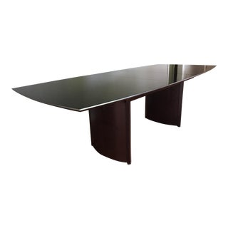 Ebony Modern Extension Dining Table