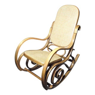 Michael Thonet Style Bentwood Rocking Chair