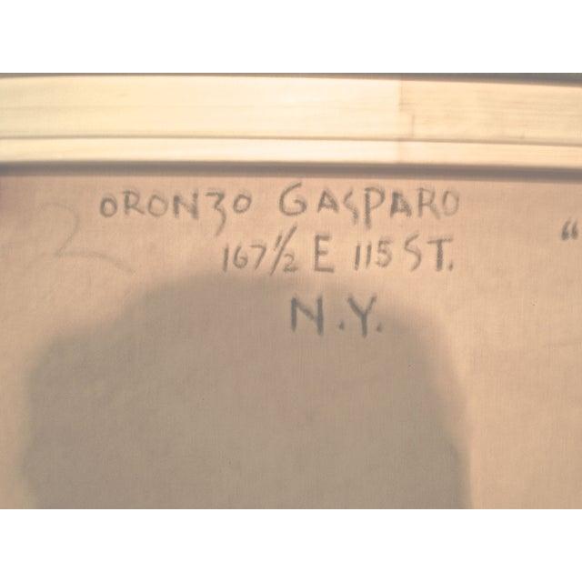 Oronzo Gasparo Fazzoletto Italiano Painting - Image 6 of 7