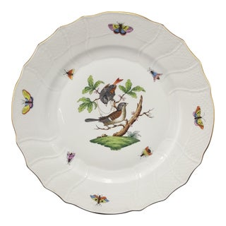 Antique Herend Rothchild Porcelain Plate