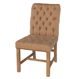 Button Tufted Side Chair